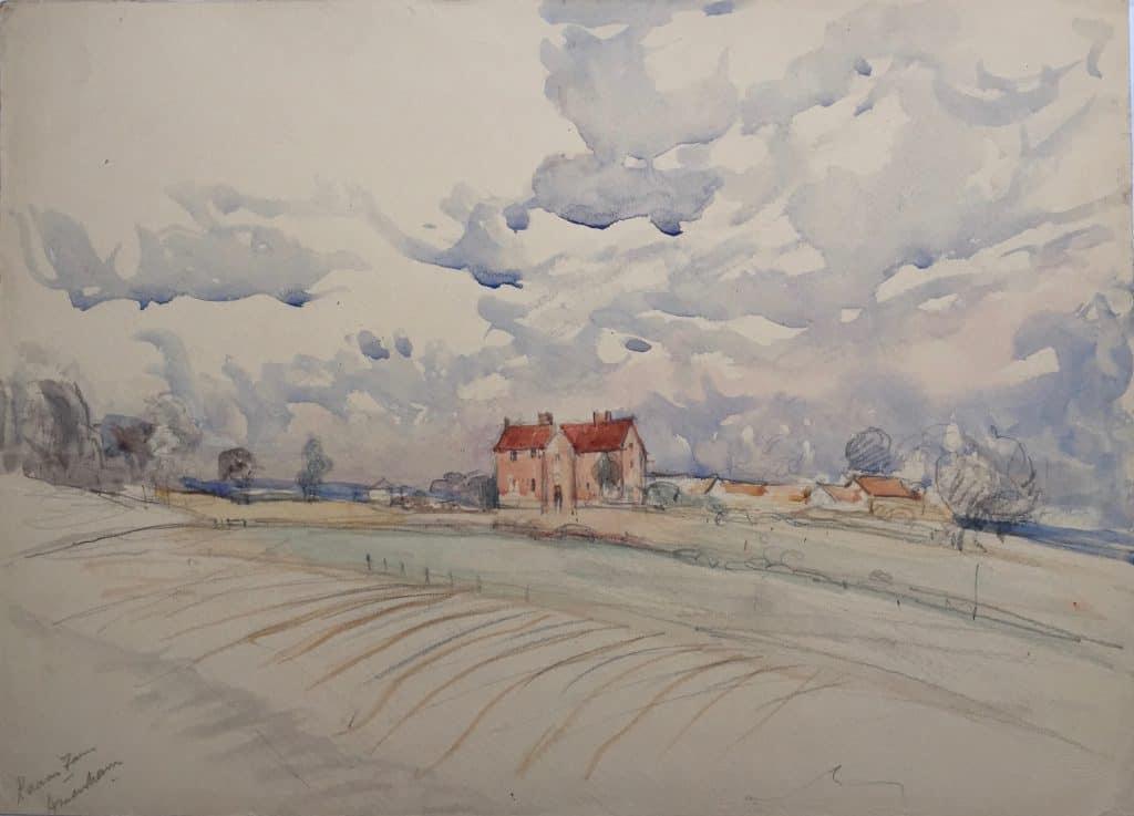 Painting of Raans Farm