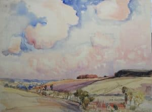 Painting of Amersham landscape