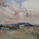 Painting of Chesham view 3