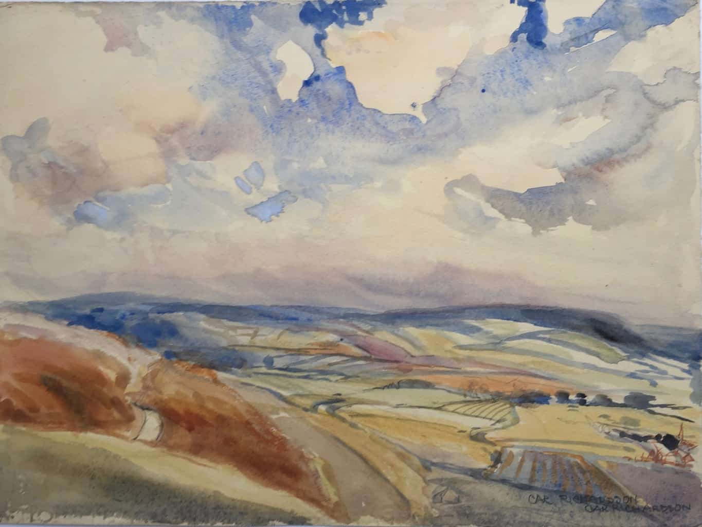 Painting of Near Whipsnade