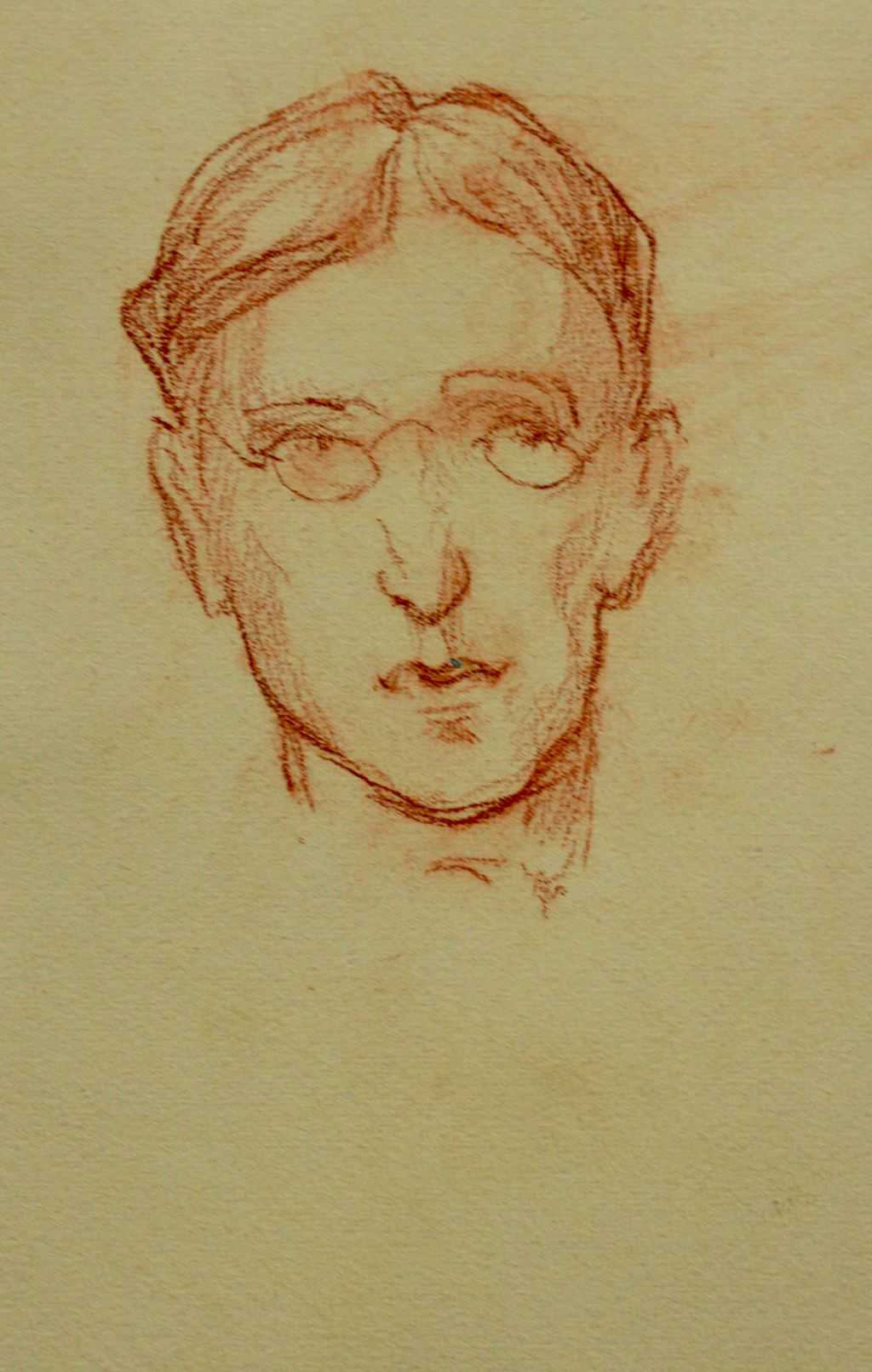 Sketch of unnamed person