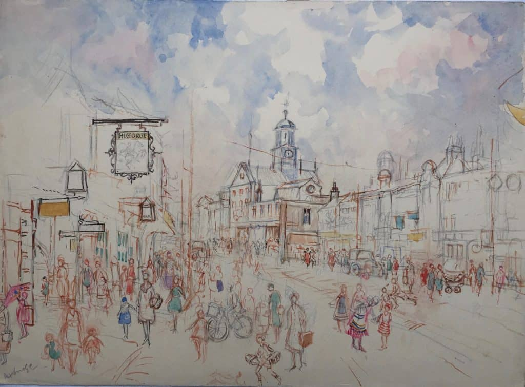 Painting of Uxbridge