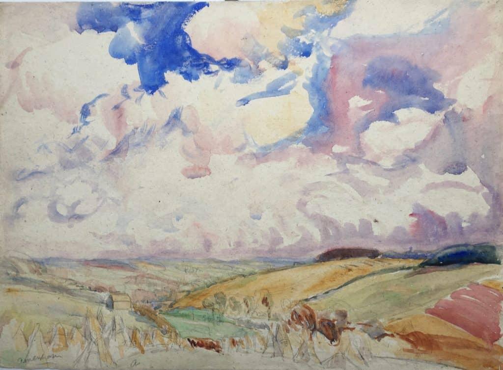 Painting of Amersham landscape