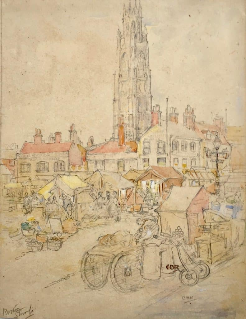 Painting of Boston Stump