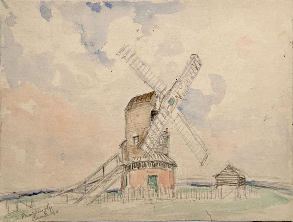 Paintings of Madingley Mill
