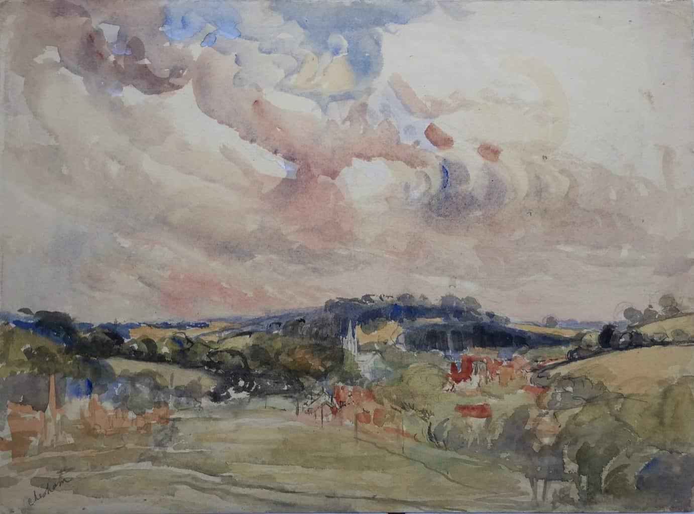 Painting of Chesham view 3