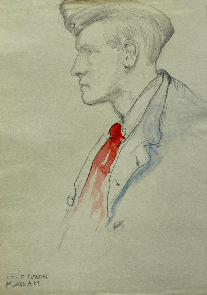 Sketch of P MASON 1st Class AM