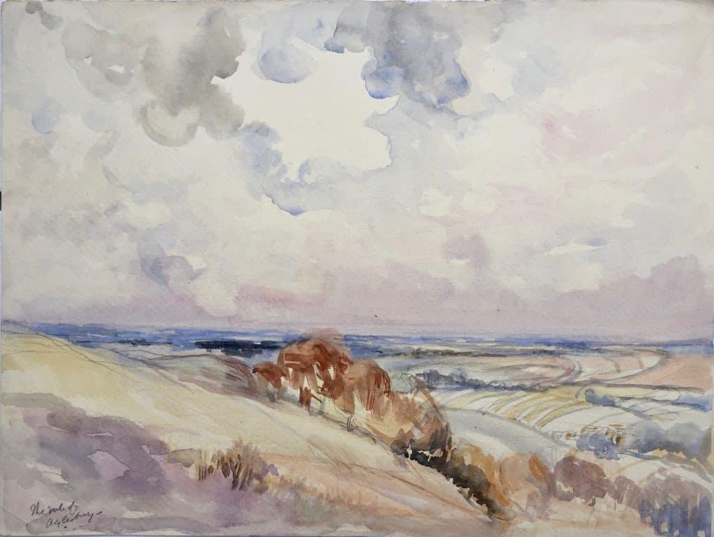 Painting of Vale of Alyesbury